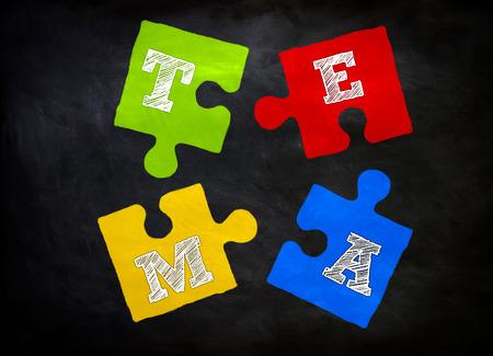 teambuilding: Team Building Concept Stock Photo