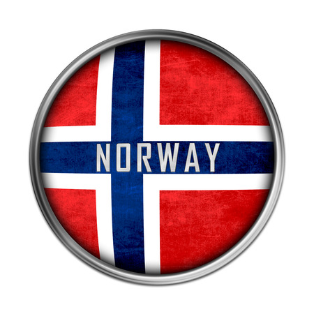 Norwegian flag button