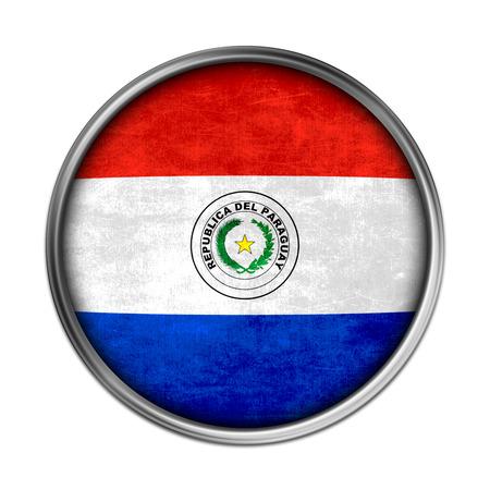 Paraguay flag: Bot�n del indicador del Paraguay