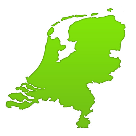 Netherlands country icon map photo