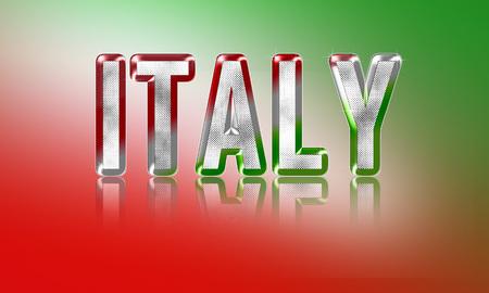 イタリア デザイン コンセプト 写真素材