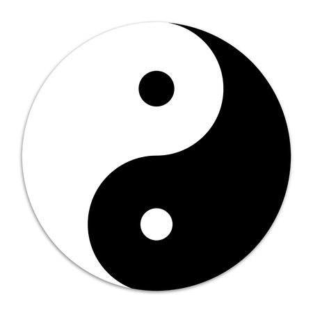 Yin and Yang symbol 免版税图像 - 29457766