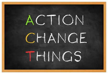 action change things-  background concept Imagens