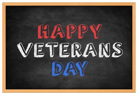 Happy Veterans Day -  background concept