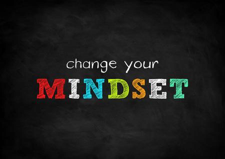 change your mindset 免版税图像 - 40870264