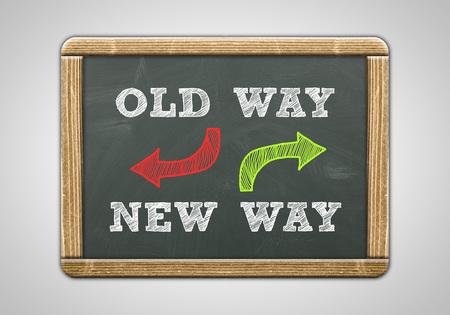 new way: Old Way New Way