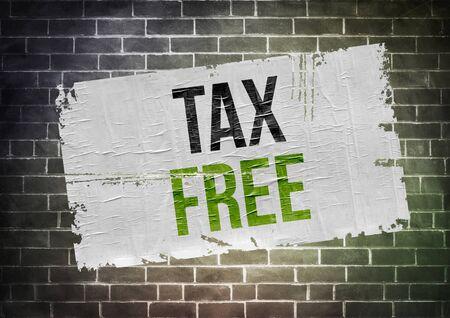 impuestos: Libre De Impuestos