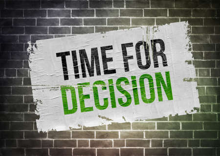adjudicate: Time for decision