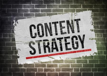 Content Strategy 免版税图像