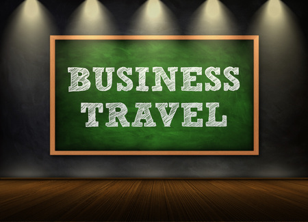 business relationship: Business Travel Stock Photo