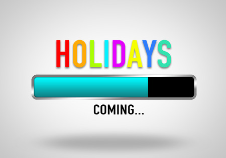 Holiday Coming Imagens - 41081923