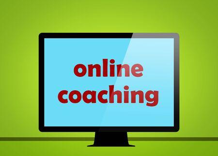 online coaching 免版税图像