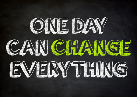 unleash: one day can change everything Stock Photo