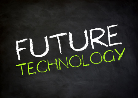it tech: Future Technology Stock Photo