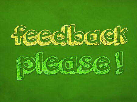 feedback please design concept Imagens - 41199324