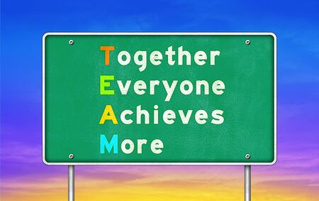 achieves: Together - Everyone - Achieves - More