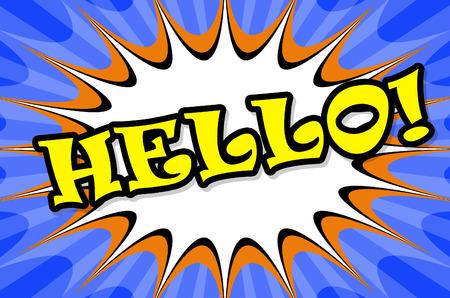 salut: Hello action