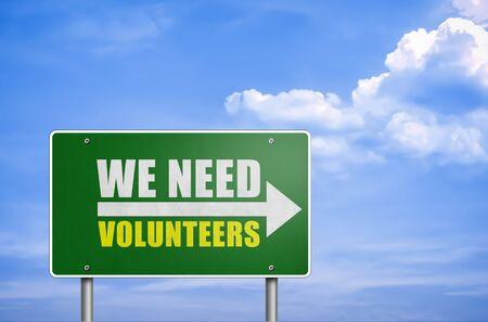 assistent: We need volunteers