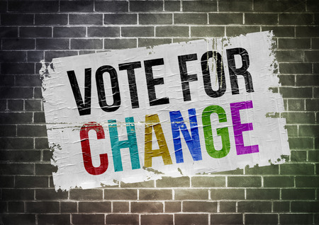 Vote for change - poster concept