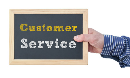 service: Customer service Stock Photo