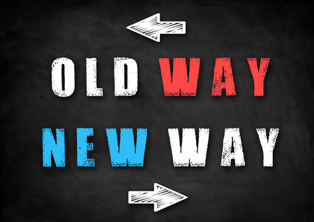 new way: Old Way - New Way decision