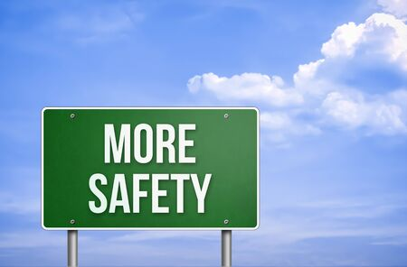 safeness: more safety Stock Photo