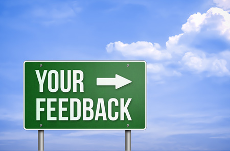 your: Your feedback Stock Photo