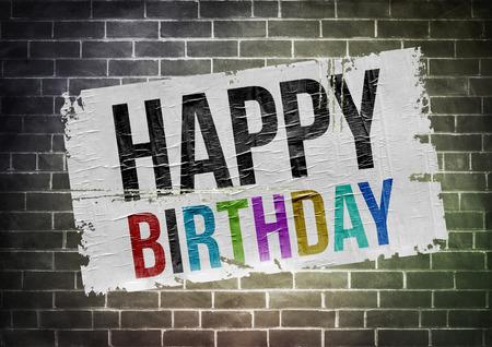 Happy Birthday - poster illustration