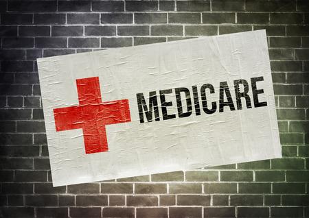 Medicare poster illustration