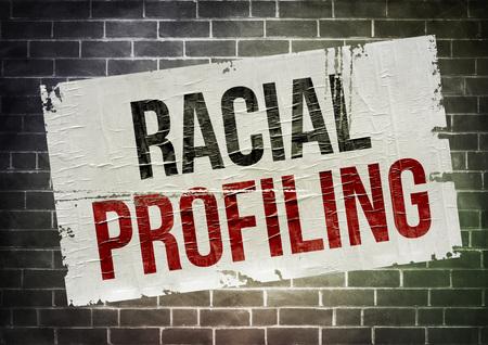 profiling: Racial Profiling - poster concept