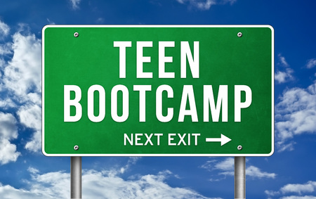Teen Bootcamp - next exit 版權商用圖片