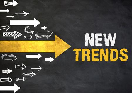 New trends design with arrow Imagens