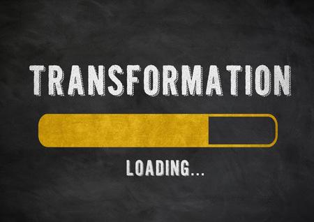 Transformattion progress bar Imagens