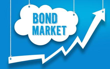 Bond Market investment concept Imagens