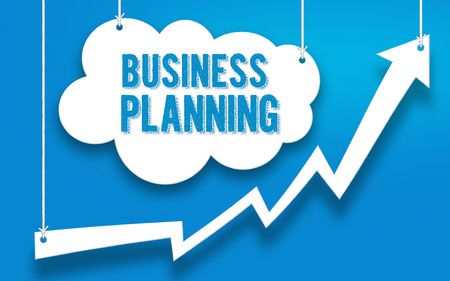 BUSINESS PLANNING word concept