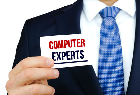 Computer Experts Stock Photo