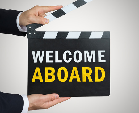 Welcome Aboard Imagens - 106507583