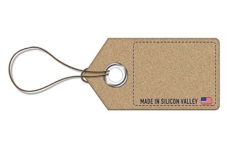 Price label - made in silicon valley