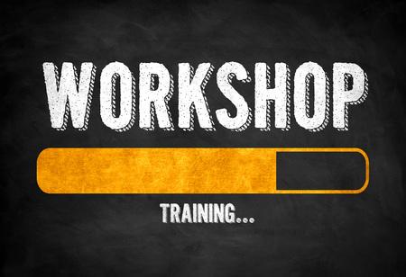 Workshop training progress Imagens - 108762240