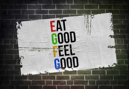 Eat Good Feel Good Imagens - 108677739