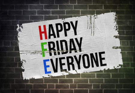 Happy Friday Everyone Imagens - 108677741