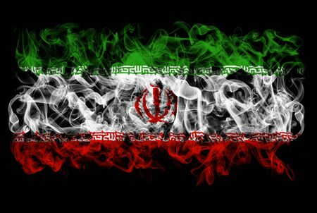 Smoking flag of Iran