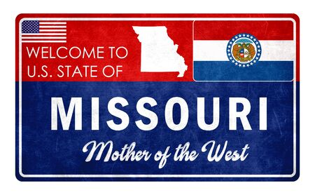 Welcome to Missouri - grunde sign