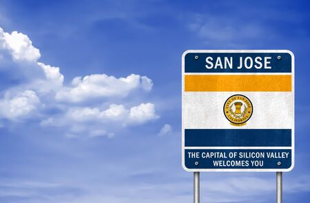 Welcome to San Jose - Silicon Valley Imagens - 126365984
