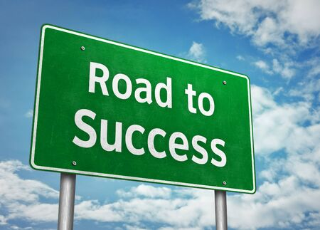 Road to Success - roadsign information