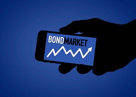 BOND MARKET - digital social media illustration