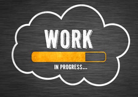 Work in progress 免版税图像