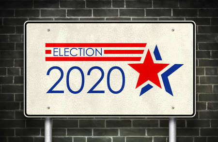 Presidential Election 2020 in the United States 免版税图像