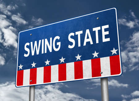 Swing State - presidential race in America