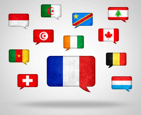 French language in the World - Different Countries with French as language